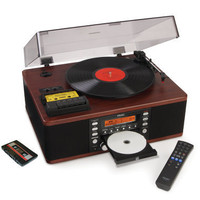 The LP And Cassette To CD Recorder - Hammacher Schlemmer