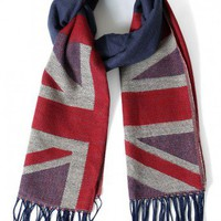 Union Jack Pattern Scarf - New Arrivals - Retro, Indie and Unique Fashion