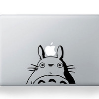 Totoro-Mac Book Mac Book Air Mac Book Pro Mac Sticker Mac Decal Apple Decal Mac Decals