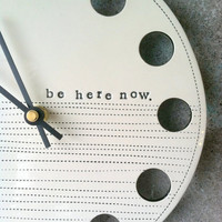 clock 8.25 be here now.  MADE TO ORDER