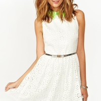 Pop Crochet Dress