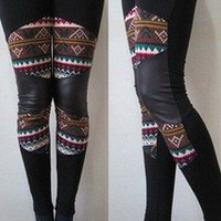 Korean fashion cotton Tights Leggings/P​ants SZ S