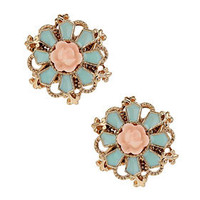 Flower Stud Earrings - Jewelry  - Accessories