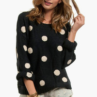 Penny for Your Dots Sweater $60