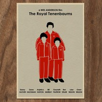 THE ROYAL TENENBAUMS Limited Edition Movie Print by monstergallery