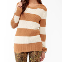 Striped Geo Pattern Sweater