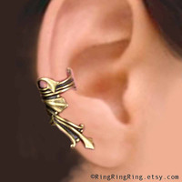 Right Vestal ear cuff ancient Roman style in by RingRingRing
