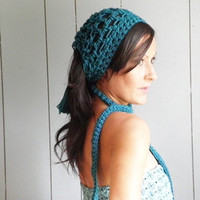 Triangle Mini in Teal by NonasNote by nonasnote on Etsy