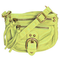 Mini Zip Crossbody Bag | Shop Junior Clothing at Wet Seal