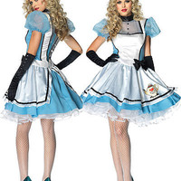 Alice Costumes: Tea Time Alice Costume, OdGirl.com