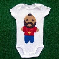 Looks Like Mr T Infant Bodysuit by micielomicielo on Etsy