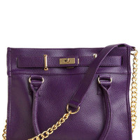 Eggplant for Every Occasion Bag | Mod Retro Vintage Bags | ModCloth.com