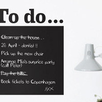 To Do List, Wall Sticker by Ferm Living [GS-fermtodo] - $72.00 - GSelect - Gifts for Men. Unique, Cool Gift Ideas and Presents