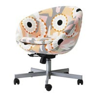 SKRUVSTA Swivel chair - Ankarsvik multicolor - IKEA
