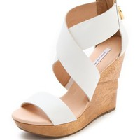 Diane von Furstenberg Opal Wedge Sandals | SHOPBOP