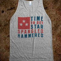 Star Spangled Hammered Alternate (Tank) - Ladies &amp; Gentlewoman