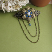 French Clip with Dainty Chain