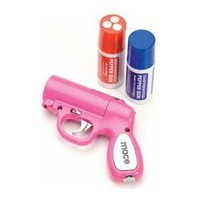 Amazon.com: Mace® Pepper Gun Pink, Sprays from any Angle up to 25', Trigger Activated LED for Better Aim: Everything Else