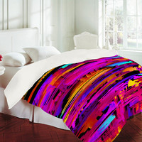 DENY Designs Home Accessories | Holly Sharpe Colorful Chaos 2 Duvet Cover