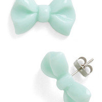 You Bow What I Mint Earrings | Mod Retro Vintage Earrings | ModCloth.com