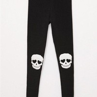 Skull Knee Leggings in 2 colors from CherryKreations21
