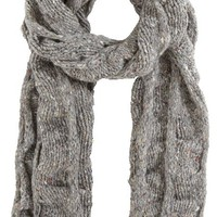 Barneys New York Oversized Basketweave Scarf