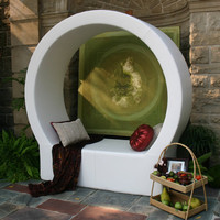 Modern Outdoor Seating | Pod Cricle Seating