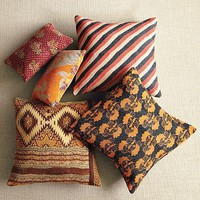 Kantha Quilted Pillow | west elm
