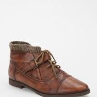 UrbanOutfitters.com &gt; BDG Lace-Up Sweater Cuff Boot