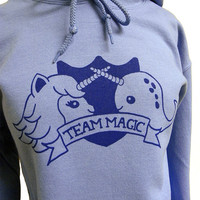 Narwhal Unicorn Hoodie TEAM MAGIC Sweatshirt