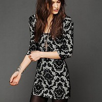 Free People Fair Maiden Velvet Bodycon