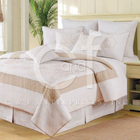 Atlantic Shells Standard Pillow Sham | Atlantic Linens