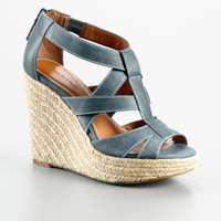 blaire rope wedge platform shoe - accessories- Calvin Klein