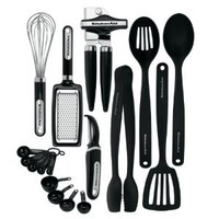 Kitchenaid Classic 17-piece Tools and Gadget Set, Black: Amazon.com: Kitchen & Dining