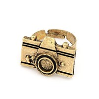 Cute Vintage Camera Ring - Oh So Trend