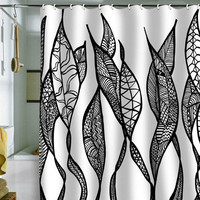 Lisa Argyropoulos Sway 1 Shower Curtain