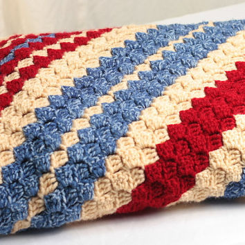 Crochet Pattern Diagonal Afghan : DIAGONAL CROCHETED AFGHAN ? CROCHET PATTERNS