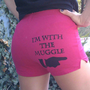 I&#x27;m with the Muggle - XSmall Pink