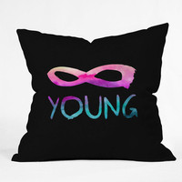DENY Designs Home Accessories | Jacqueline Maldonado Forever Young 2 Throw Pillow