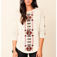 Townsen - Tribal Intarsia Sweater