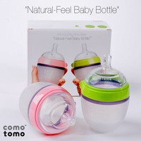 Como Tomo Natural-Feel Baby Bottle - Twin Pack 5 oz