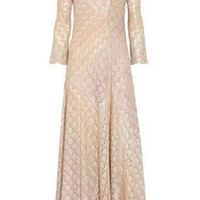 Missoni|Graziella crochet-knit gown|NET-A-PORTER.COM