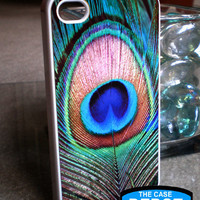 Peacock Feather Iphone 4 Hard Case,.. on Luulla