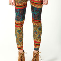 Britney Tribal Print Leggings