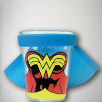 Wonder Woman Cape Shotglass