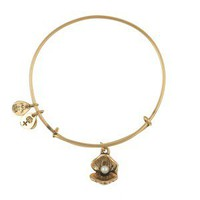 Oyster and Pearl Bangle - Alex and Ani