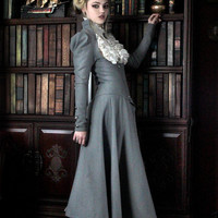 Lady Grey full outfit by Steampunk Couture by SteampunkCouture