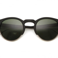 mosley tribes - bower sunglasses (matte black) - Mosley Tribes | 80's Purple
