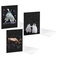 Street Market — Christmas Cards by Kris Tate
