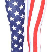Amazon.com: Style Usa American Flag Leggings Pants: Clothing